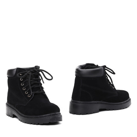 Black insulated Lyric footwear- Footwear