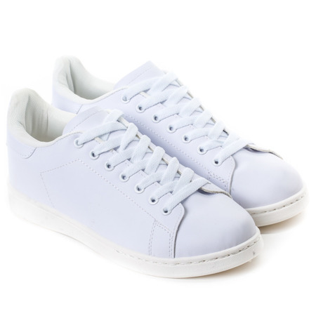 Giselle White Sneakers - Schuhe