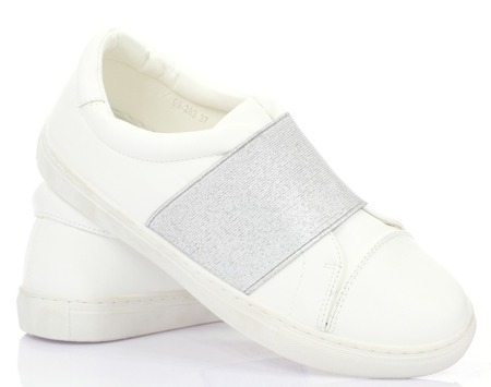 White slip on - Footwear